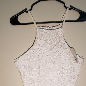 White dress by Francesca size small bridal